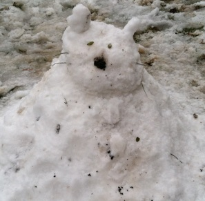 """Snow Cat"" by Jennifer Troke's kids in the running for the Under 10 category."
